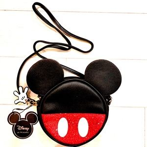 Disney Mickey Mouse Small Round Crossbody Bag